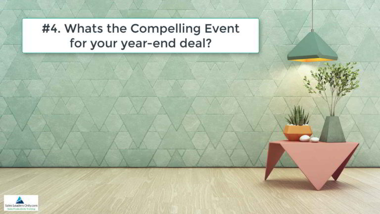 WINNING the COMPLEX SALE – This Week's Powerful Question #4