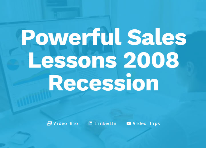 Lessons from the 2008 Recession